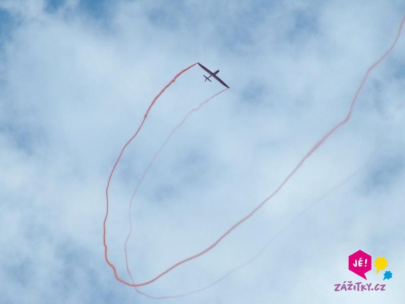 Akrobatický let větroněm - certifikát