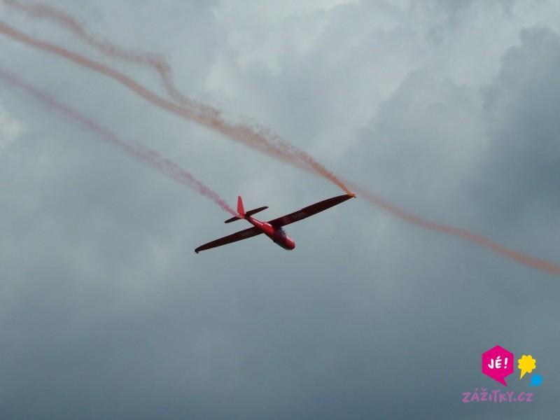 Akrobatický let větroněm - poukaz na zážitek
