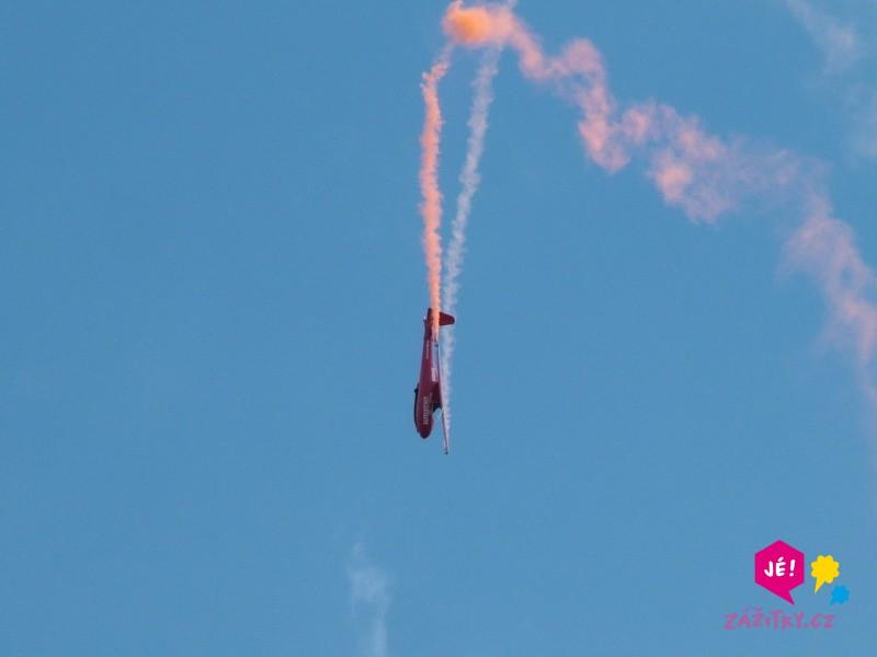 Akrobatický let větroněm - dárek