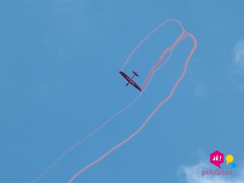 Akrobatický let větroněm - dárkový poukaz
