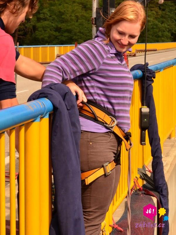 Bungee jumping - poukaz na zážitek