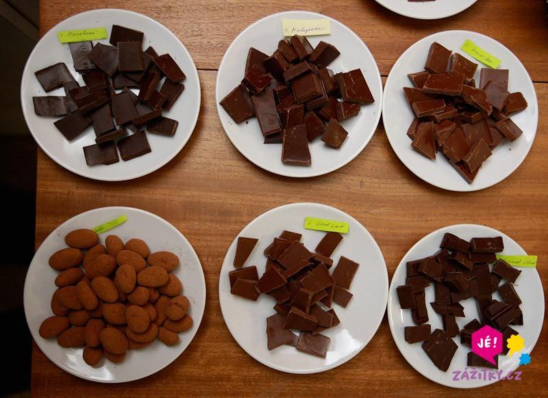 Degustace čokolády - dárkový poukaz