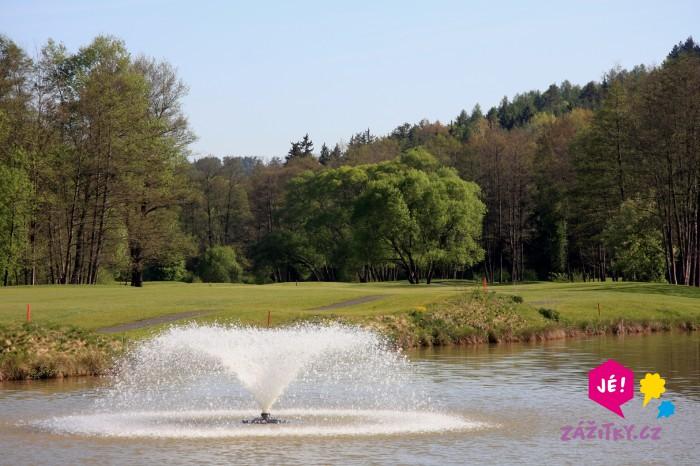 Den s golfem - dárkový poukaz