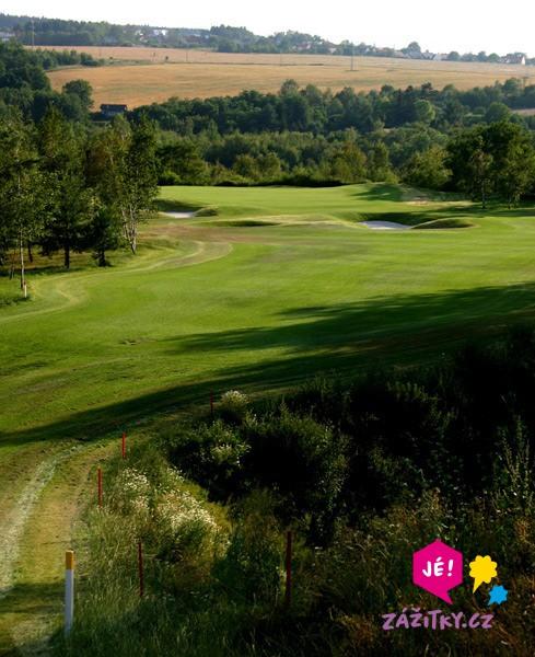 Den s golfem - poukaz na zážitek