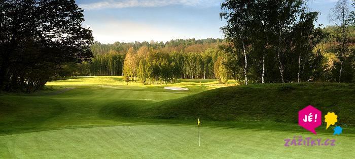 Den s golfem pro dva - dárek