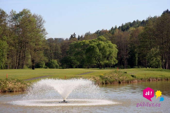 Den s golfem pro dva - dárkový poukaz