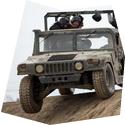 Divoký Hummer 2 v 1 - poukaz, certifikát