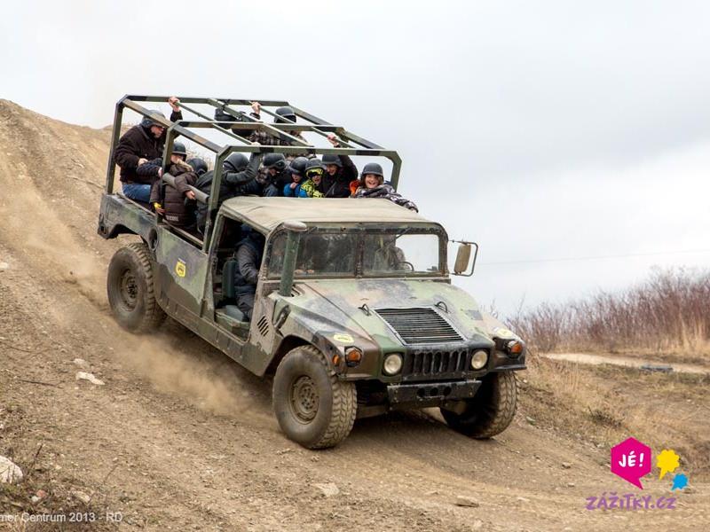 Divoký Hummer 2 v 1 - dárek