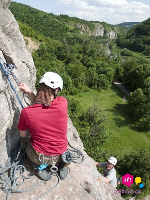 Dvoudenní kurz lezení na skalách - dárek