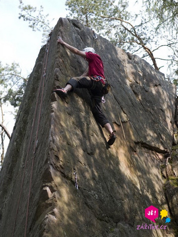 Dvoudenní kurz lezení na skalách - certifikát