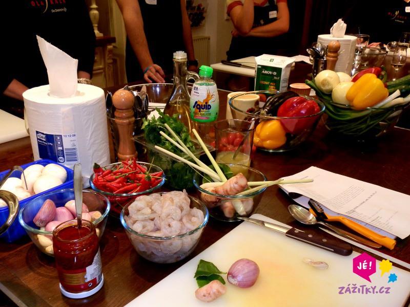 Gurmánský kurz vaření - dárek