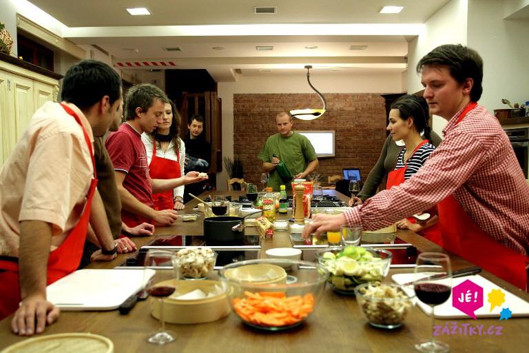 Gurmánský kurz vaření - certifikát