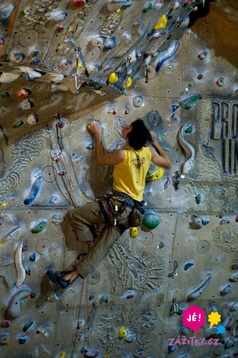 Individuální lekce lezení na stěně - poukaz na zážitek