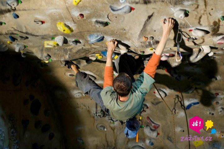 Individuální lekce lezení na stěně - dárkový poukaz
