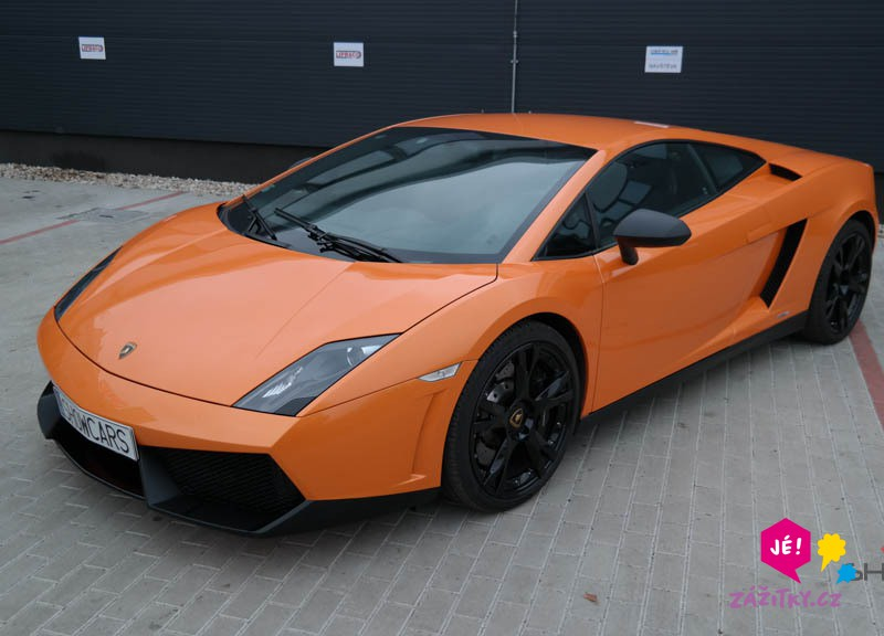 Jízda v Lamborghini - dárkový poukaz