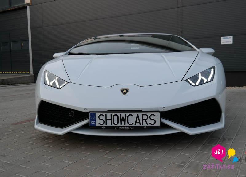 Jízda v Lamborghini - dárek