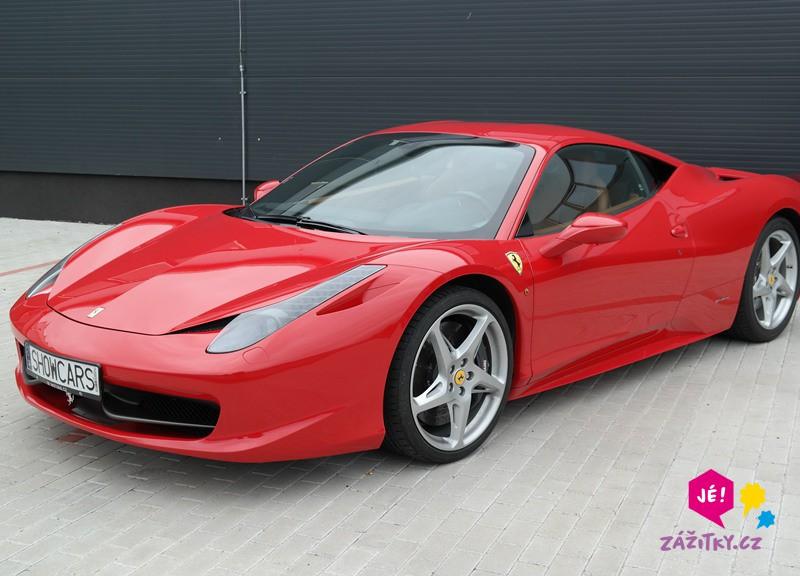 Jízda ve Ferrari - dárek