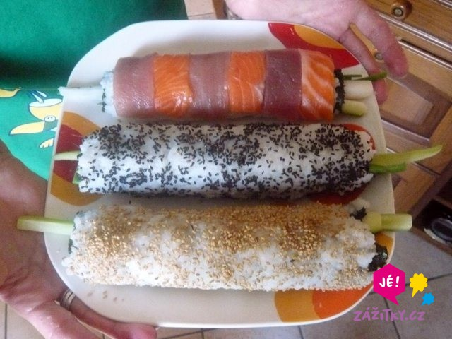 Kurz sushi u vás doma - dárek