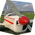 Let akrobatickým letadlem Zlín Z-142 - dárkový poukaz na zážitek