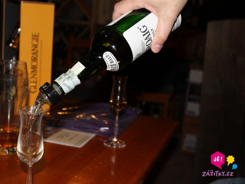 Ochutnávka whisky - poukaz na zážitek
