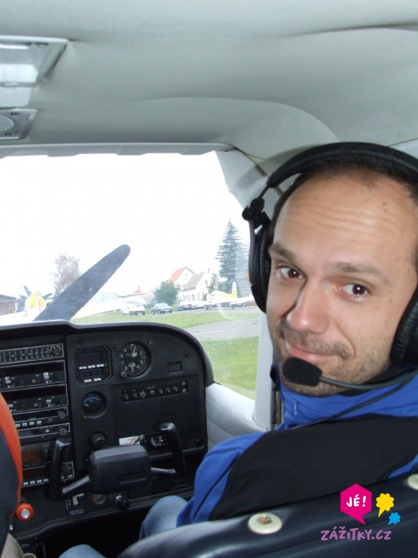 Pilotem letounu na zkoušku I. - poukaz na zážitek