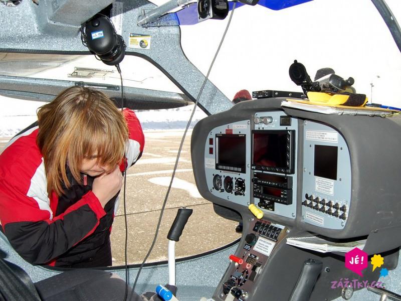 Pilotem malého letounu na zkoušku - dárek
