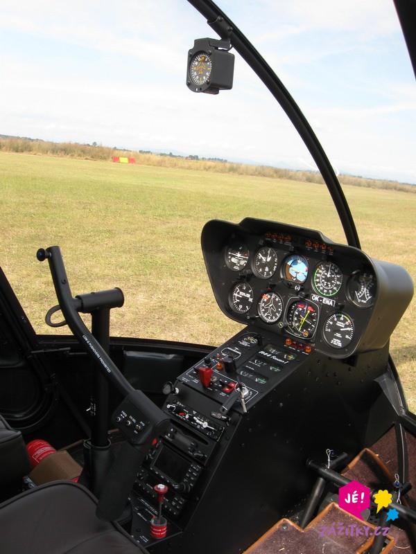 Pilotem vrtulníku na zkoušku I. - poukaz na zážitek