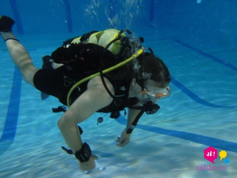 Potápěčem na zkoušku - dárek