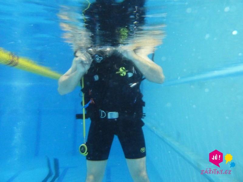 Potápěčem na zkoušku - dárkový poukaz