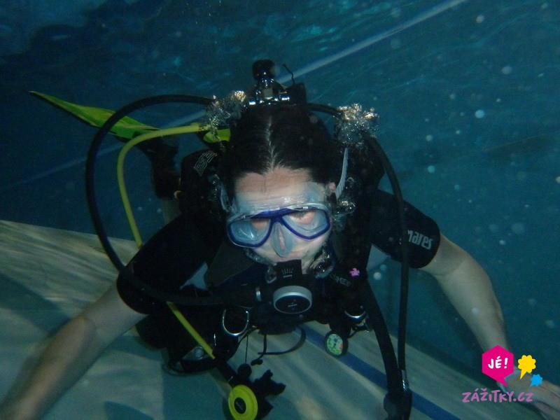 Potápěčem na zkoušku - poukaz na zážitek