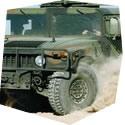 Projížďka ve vojenském Hummeru - dárkový poukaz na zážitek