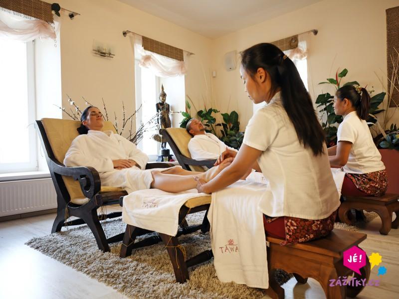 Reflexní masáž nohou - dárkový poukaz