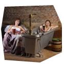 Relax v pivních lázních pro dva - poukaz, certifikát