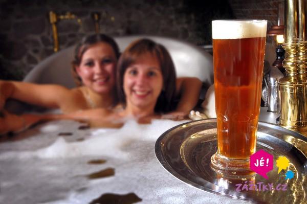 Relax v pivních lázních pro dva - certifikát