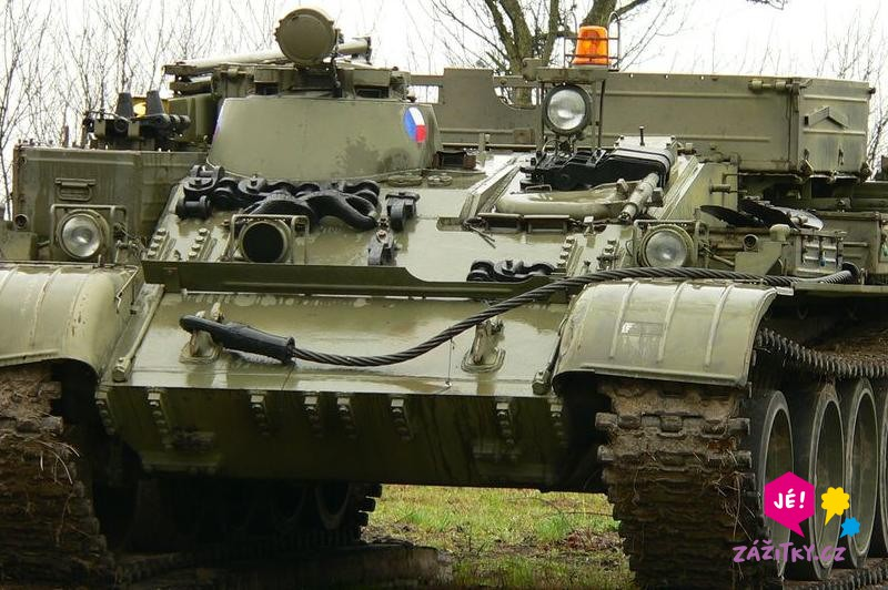 Řízení bojového tanku - dárek