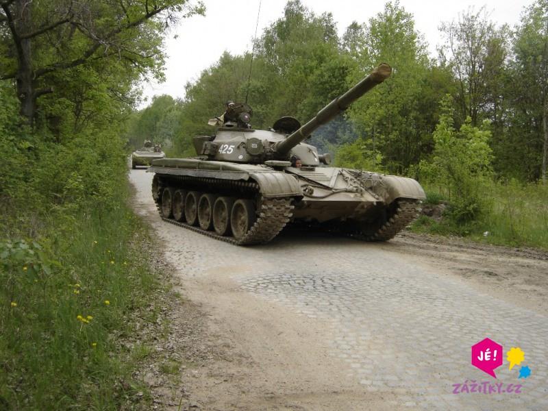 Řízení bojového tanku - dárkový poukaz