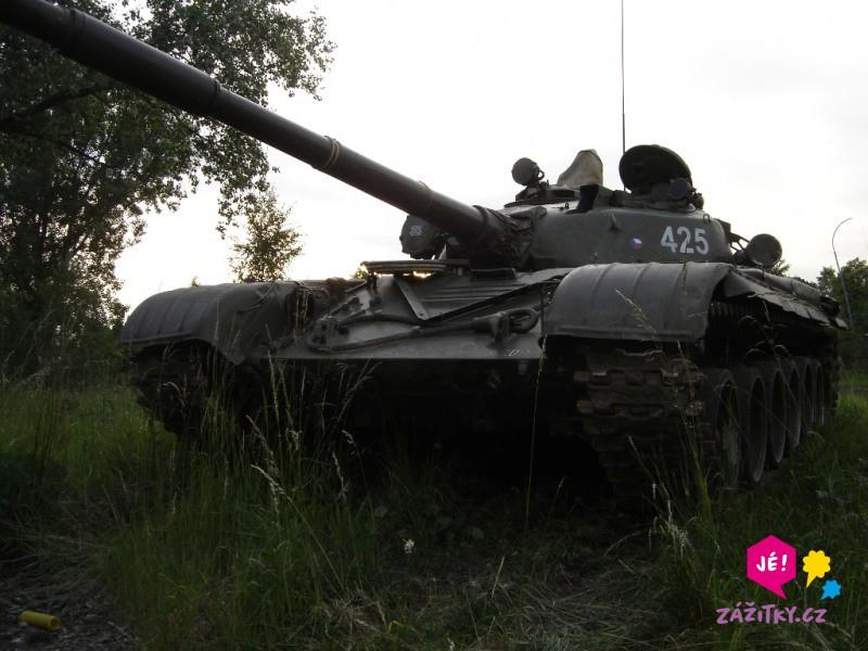 Řízení bojového tanku - certifikát