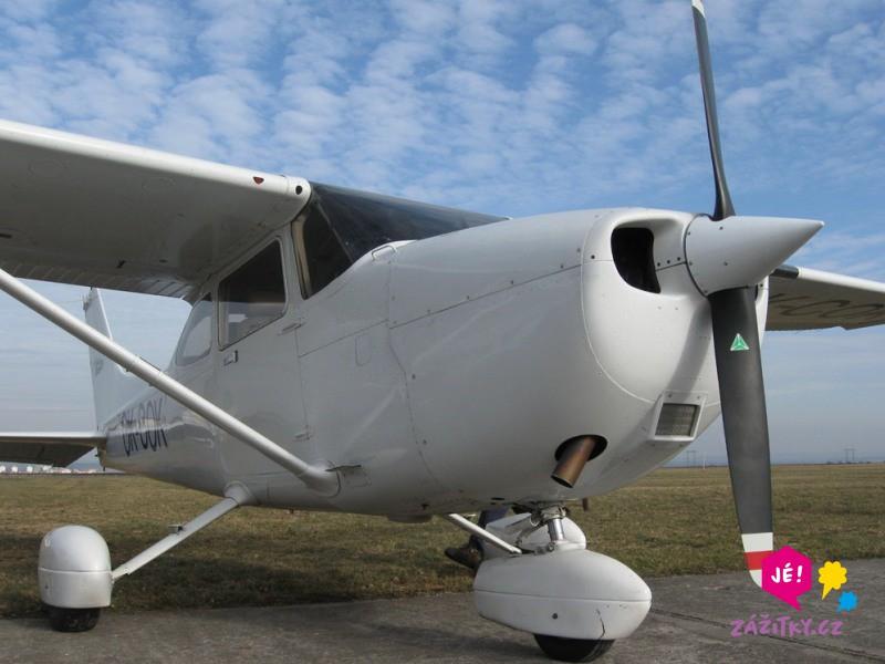 Romantický let letadlem pro dva - poukaz na zážitek