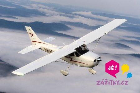 Romantický let letadlem pro dva - dárek