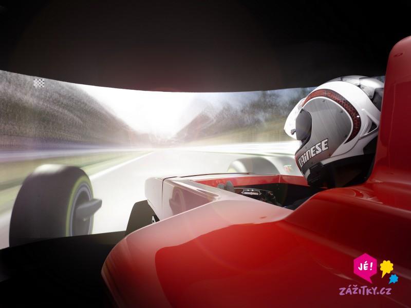 Simulátor Formule 1 - certifikát