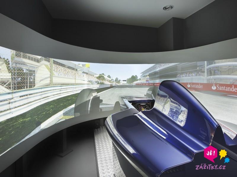 Simulátor Formule 1 - poukaz na zážitek