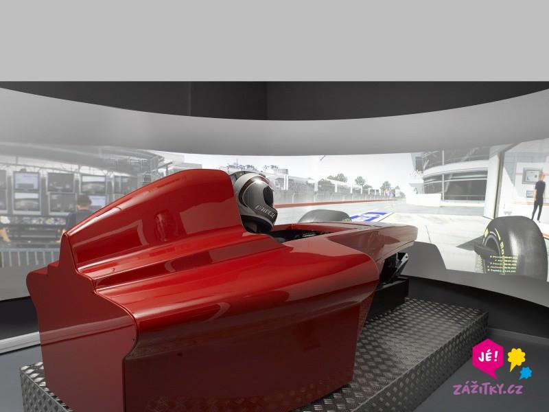 Simulátor Formule 1 - dárkový poukaz