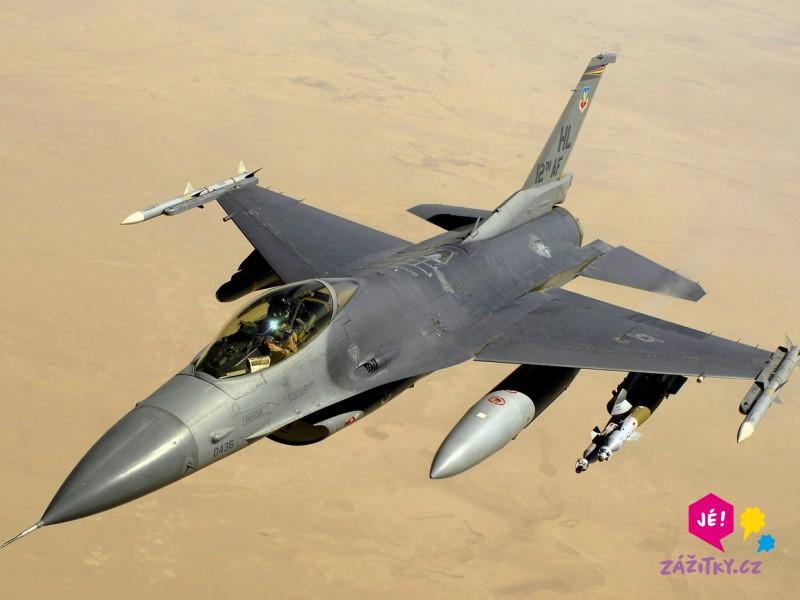 Simulátor stíhačky F16 - certifikát