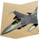 Simulátor stíhačky F16 - dárkový poukaz na zážitek