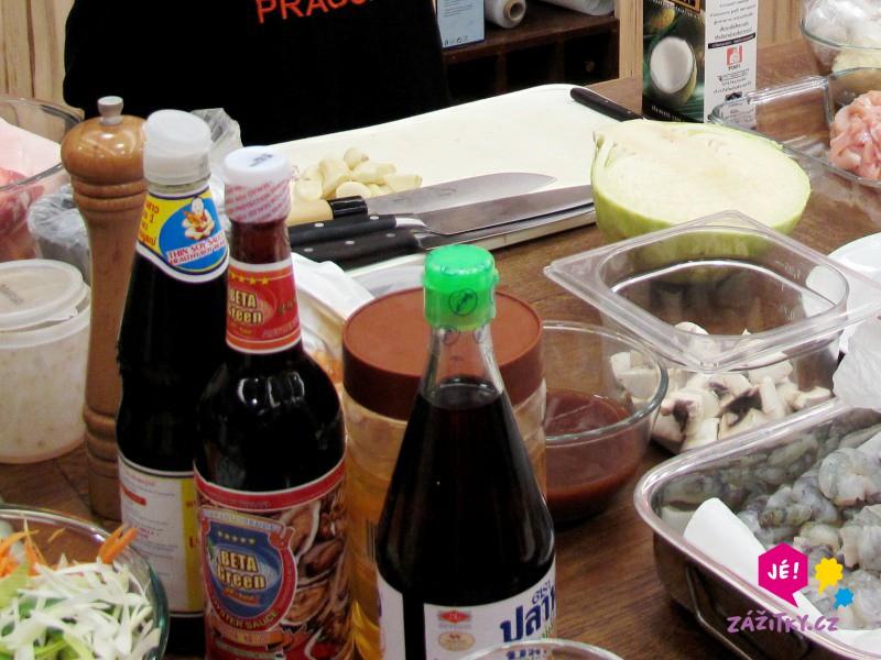 Thajská kuchyně - certifikát