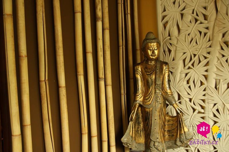 Thajská masáž - dárkový poukaz