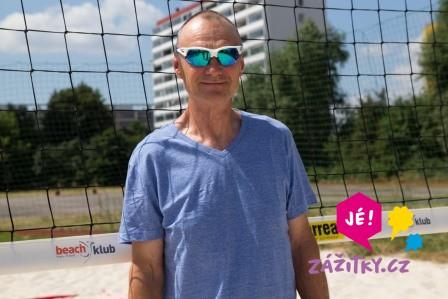Trénink s mistry beach volejbalu - certifikát