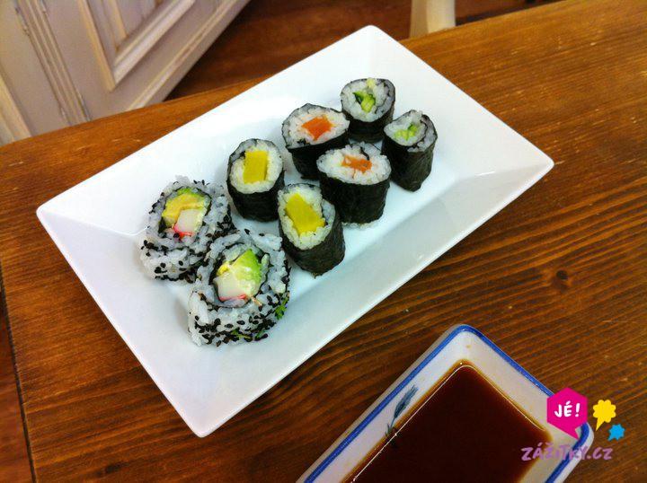 Umění sushi a japonské kuchyně - poukaz na zážitek