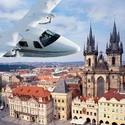 Vyhlídkový let nad centrem Prahy pro 3 osoby - dárkový poukaz na zážitek