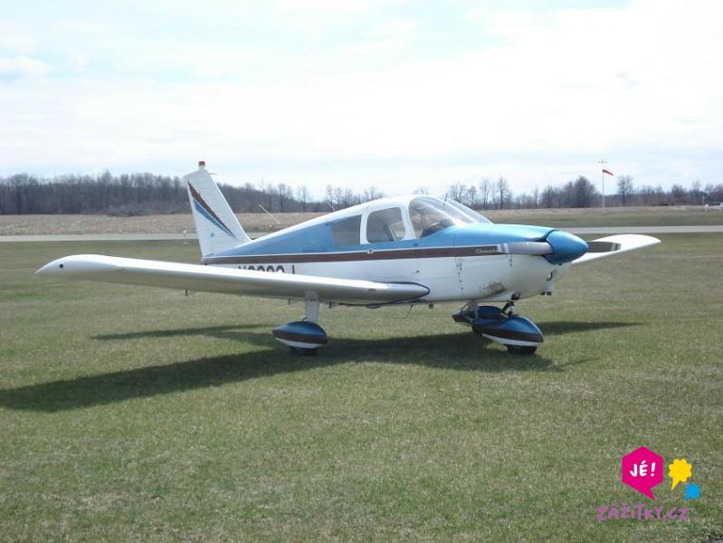 Vyhlídkový let – Piper PA 28/180 - dárkový poukaz
